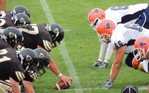 American football athletes